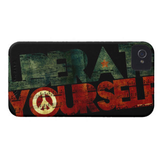 StellaRoot Liberate Yourself Music Election iPhone 4 Case-Mate Cases