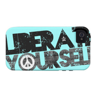 StellaRoot Liberate Yourself Peace Music Election iPhone 4/4S Case