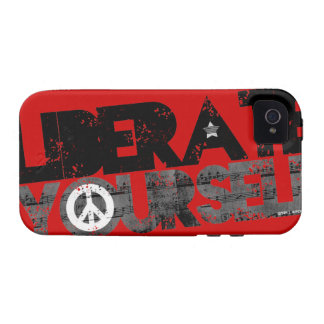 StellaRoot Liberate Yourself Peace Music Election iPhone 4 Cover