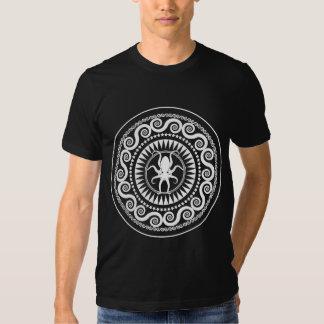 StellaRoot Nautlius Octopus Damask Grunge Pattern Tshirt