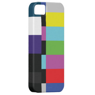 StellaRoot Retro TV Color Code Television vcr bars iPhone 5 Cases