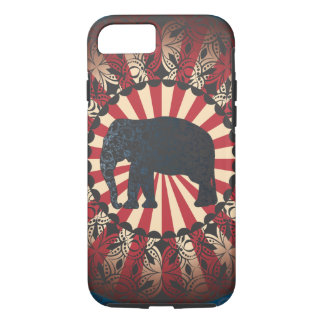 StellaRoot Vintage Circus Elephant Free Mandarin iPhone 8/7 Case