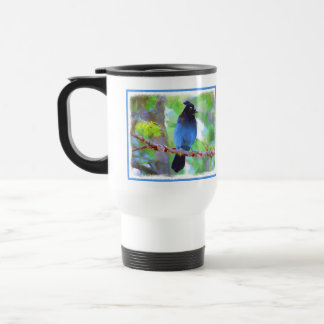 Steller's Jay Travel Mug