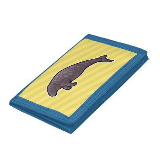 Steller's Sea Cow Tri-fold Wallets