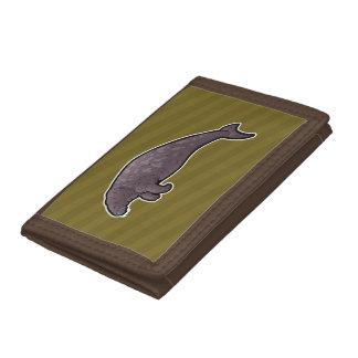 Steller's Sea Cow Trifold Wallets