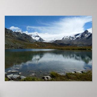 Stellisee Swiss Alps Poster