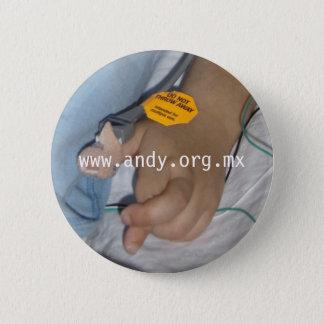 Stem Cells - Fingers crossed 6 Cm Round Badge