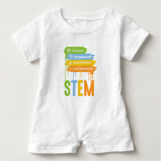 STEM Science Technology Engineering Math School Baby Bodysuit