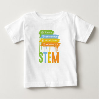 STEM Science Technology Engineering Math School Baby T-Shirt