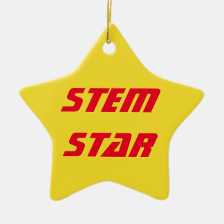 STEM Star Ornament