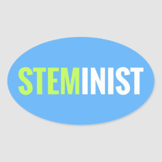 STEMinist Sticker - Oval
