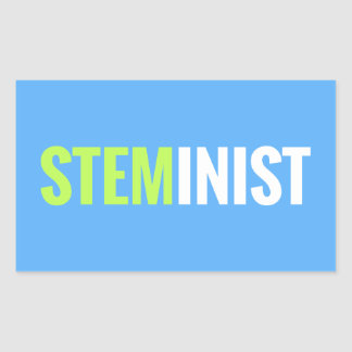 STEMinist Sticker - Rectangle