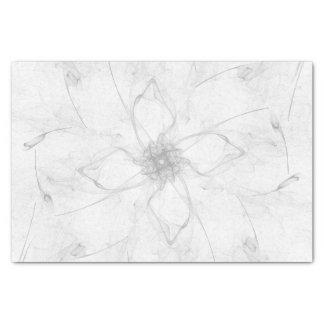 Stencil Flower Design Tissue Paper