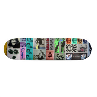 Stencil Mayhem 21.6 Cm Skateboard Deck