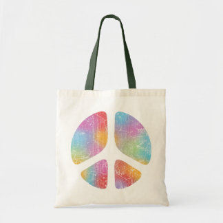 Stencil Peace II Canvas Bag