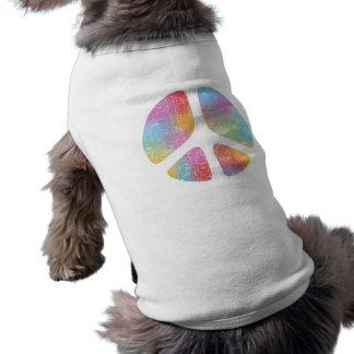 Stencil Peace II Doggie Shirt