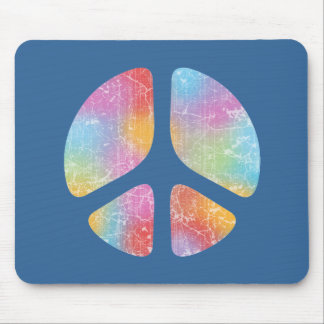 Stencil Peace II Mouse Pad