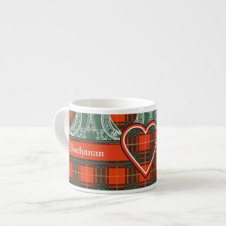 Stenhouse family clan Plaid Scottish kilt tartan Espresso Mug