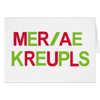 Steno Christmas Card