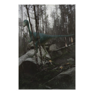 Stenonychosaurus Poster