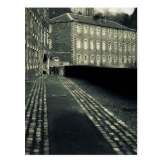 Step Back in Time - Streets of New Lanark Postcard