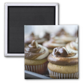 Step by step photos of peanut butter cupcakes refrigerator magnets