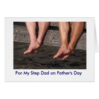 Step Dad - Father's Day Card