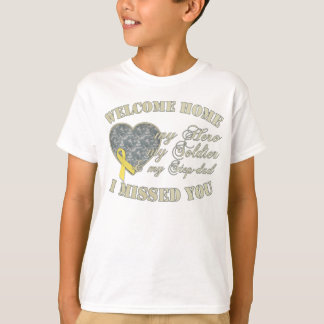 Step-dad Welcome Home T-Shirt