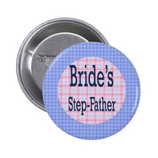 Step-Father Of The Bride Button
