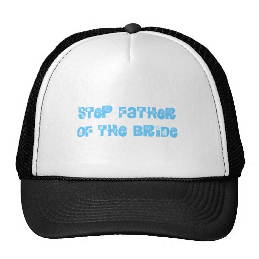 Step Father of the Bride Mesh Hat