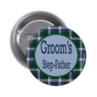 Step-Father Of The Groom Button