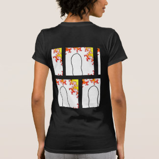 step into the future with back pix T-Shirt