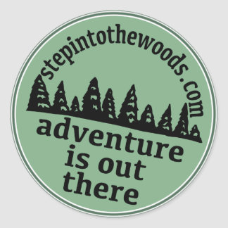 Step Into The Woods Sticker