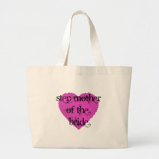 Step Mother of the Bride Large Tote Bag