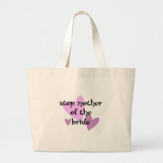 Step Mother of the Bride Jumbo Tote Bag
