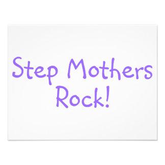 Step Mothers Rock Purple Custom Invite