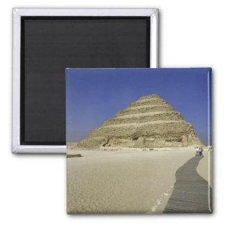 Step pyramid at Saqqara, one of the earliest Magnet