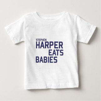 Stephan Harper eats babies Baby T-Shirt