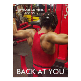 STEPHANIE SUTHERS, BACK AT YOU POSTER