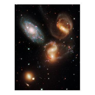 Stephan's Quintet Postcard
