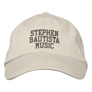 Stephen Bautista Music Hat Embroidered Baseball Cap
