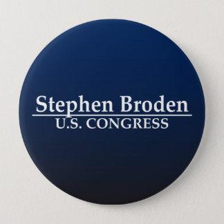 Stephen Broden U.S. Congress 10 Cm Round Badge