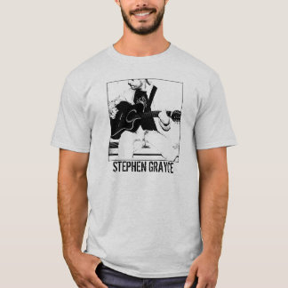 STEPHEN GRAYCE seated w/guitar T-Shirt