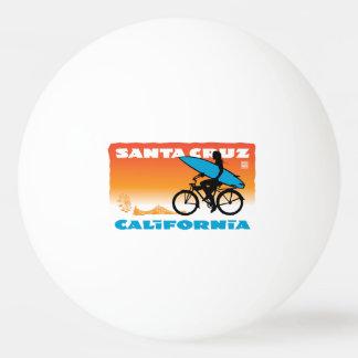 Stephen Hosmer's Surfer Girl Orange Ping Pong Ball