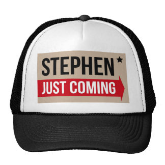 Stephen! Justing Coming Authentic Cap