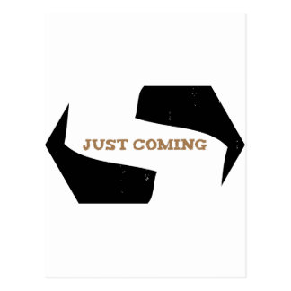 Stephen! Justing Coming Eroded Postcard
