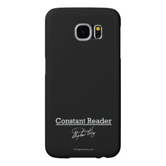 Stephen King, Constant Reader Samsung Galaxy S6 Cases