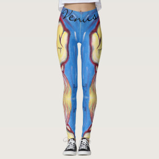 Steph's YingYang by Venus Leone Leggings