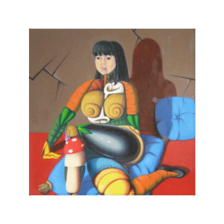 """Stephy "" Canvas Print"