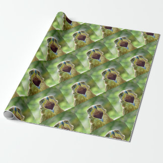 Steppe Eagle Head 001 2.1 Wrapping Paper